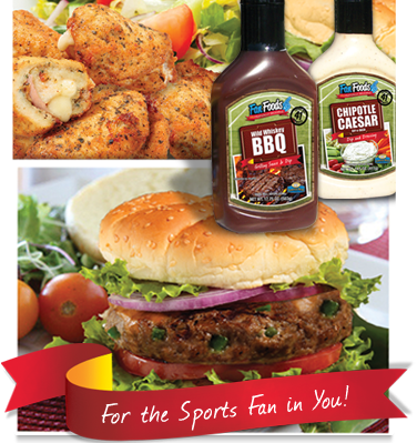 Food for the sports fan in you